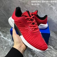 hcxx A1133 Adidas Energy Boost 2 ESM 2019 Mesh Breathable Running Shoes Red
