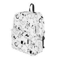 Cryaotic - White Backpack