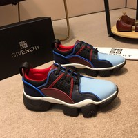 Givenchy Men Fashion Boots  fashionable casual leather  Breathable Sneakers Running Shoes Sneakers