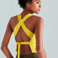 Silence + Noise Utility Strap Tank Top - Urban Outfitters