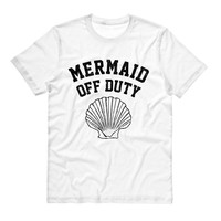 Mermaid Off Duty (Black) Shirt