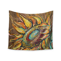 "Brienne Jepkema ""Sunflower"" Yellow Flower Wall Tapestry"