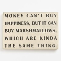 Primitives by Kathy 'Money Can't Buy You Happiness' Box Sign | Nordstrom