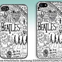 For iPhone 4 case iPhone 4s Case iPhone 5 Case iPhone 5s Case iPhone 5c case Samsung S5 S4 S3 Case samsung note3 note2 case---The Beatles