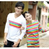 Cool Colorful Best His and Hers Tshirts for Couples