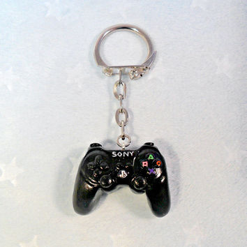 PS3 Playstation 3 Controller Keychain, Cute & Geeky :D