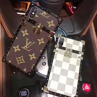 LV Louis Vuitton classic iPhone7plus luxury big mobile phone case F-AL-BSYHD
