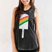Chaser Rainbow Popsicle Muscle Tee