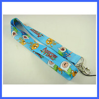 Lovely ADVENTURE TIME Neck Lanyard Strap Cell Mobile Phone,ID Card,Keys + Badge