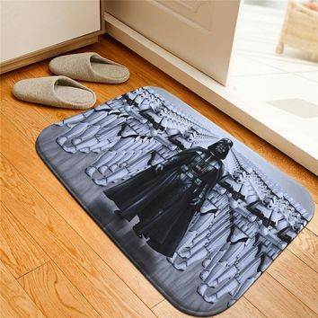 Star Wars Force Episode 1 2 3 4 5 Creative  Printed Doormat Floor Mats Anti-slip Rugs Galactic Empire Darth Vader Carpets Bathroom Carpet Kitchen Mats AT_72_6
