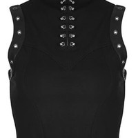 Punk Rave Gothic Disco Top | Attitude Clothing