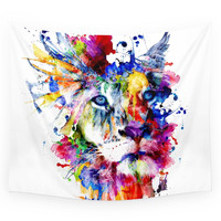 Society6 THE KING II Wall Tapestry