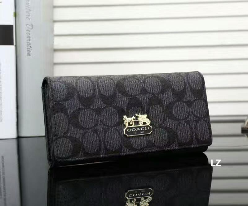 Image of Coach Women Fashion Leather Wallet Purse