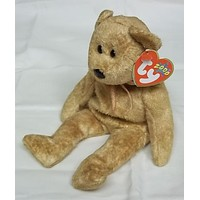Ty Beanie Babies Cashew the Bear -- Used