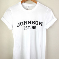 Johnson Est. 96 Graphic Unisex Tee