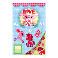 ConsumerCrafts Product Love Is In The Air Sticker Book with 338 Valentine Stickers