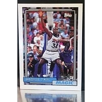 Shaquille O'Neal Rookie 1992-93 Topps #362 Orlando Magic NBA Star HOF