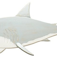 Shark! - Large Decorative Wall Art - 30-in