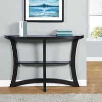 MHS-I 2415 Cappuccino Hall Accent Table By Monarch