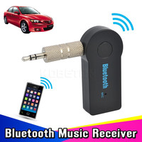 2016 Universal 3.5mm Car Bluetooth Audio Music Receiver Adapter Auto AUX Streaming A2DP Kit for Car Stereo Speaker Headphone