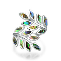 Bling Jewelry Leaves of Sass Ring