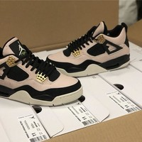 "Air Jordan 4 ""Silt Red"" WMNS AQ9129-601"