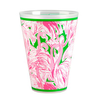 Lilly Pulitzer Tumbler Set of 8 - Pink Colony