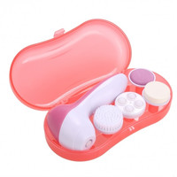 Facial Cleaner Deep Clean 4 In 1 Electric Facial Cleaner Face Skin Care Brush Massager Scrubber