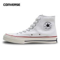 Converse All Star Men Women's Sneakers Canvas Shoes High Classic 162053C White 35-44