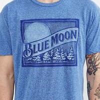 Brew City Blue Moon Tee- Blue