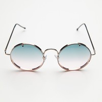 Free People Poolside Rimless Sunnies