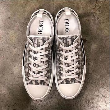 DIOR LOW-TOP SNEAKER SHOES