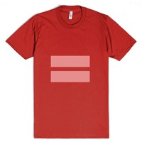 Marriage Equality Symbol-Unisex Red T-Shirt