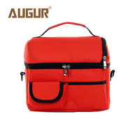 AUGUR Brand Portable Lunch Picnic Bag Insulated Cooler Bag Ice Bag Cool Bag Lunch Box Kit Hand Lunch Pouch