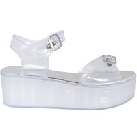 Platform Jelly Sandal - Clear