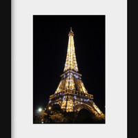 wall hanging art Eiffel tower decor Paris photography  bedroom wall decor for girls room Paris decor night photography 4x6 5x7 6x8 8x10 10x1