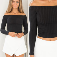 European Slash Neck Off Shoulder Sexy Tops Knitting Slim 2016 Strapless Summer Style Women Casual Pullovers T-shirt