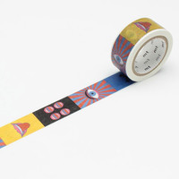 mt x Tadanori Yokoo Washi Tape Single Eye & Mouth