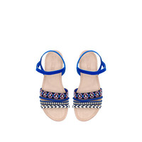 FLAT SANDALS WITH COMBINATION STRAPS - New collection | ZARA United States