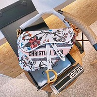 DIOR Kaleidiorscopic Saddle Bag-2