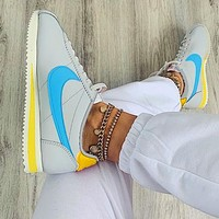 Nike Nike Classic Cortez Forrest Series Grey+blue hook