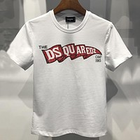 Dsquared Women Or Men Fashion Casual Letter Print Shirt Top Tee