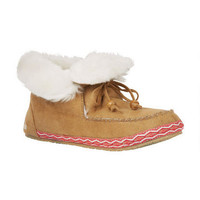 Roxy Chestnut Slipper