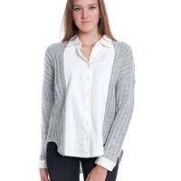 Warm Touch Shirt - White/Gray