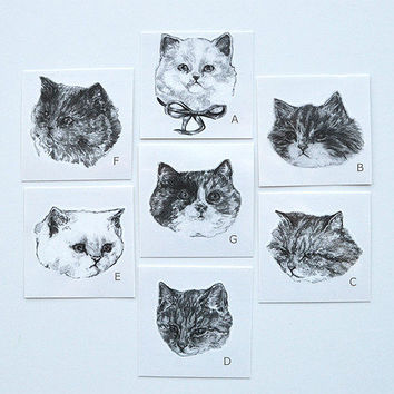Temporary Tattoo Set of 3 by Harriet Gray