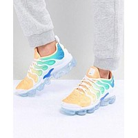 NIKE AIR VAPORMAX PLUS 2018 new fashion air cushion gradient color upper sneakers shoes F/A