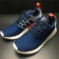 Best Deal Online Adidas Boost NMD R2 PK Originals Primeknit Women Men Running Shoes