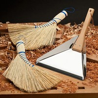 A Much Better Whisk Broom & Dust Pan
