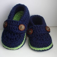 Easy Crochet Pattern Baby Loafers n.107 by Beatifico - Craftsy