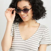 Urban Summertime Staple Sunglasses in Black by ModCloth